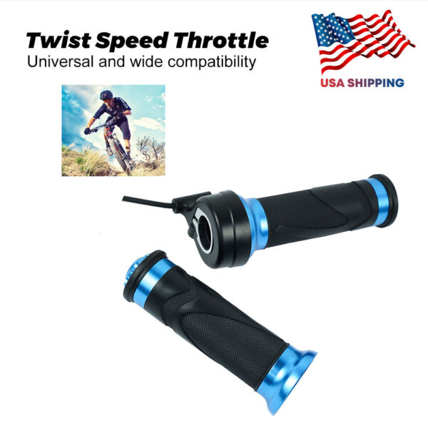 Ebike Right-Hand Twist Throttle Compatible for BAFANG Mid-Drive Motor BBSXX Kit