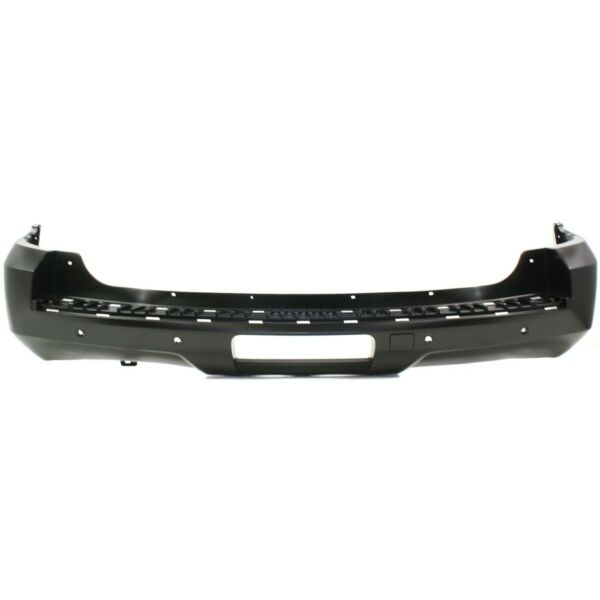 Bumper Cover For 2007 2014 Chevrolet Tahoe With Object Sensor Holes Rear Primed