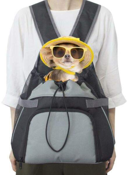 Doggy BackPack Front Carrier Bag Carrier Small Dog up to 8 pounds $14.99