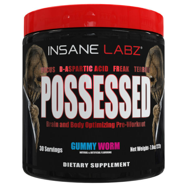 INSANE LABZ - POSSESSED - PRE WORKOUT - TEST BOOST - 30 Servings - CHOOSE FLAVOR