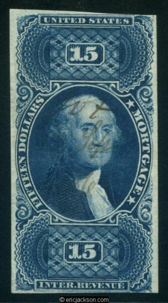 FIRST ISSUE REVENUE Scott R97a ms. cancel Fine