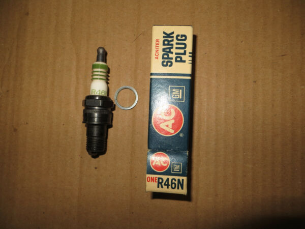 Vintage ACDelco R46N Spark Plug 60's 70's Many models