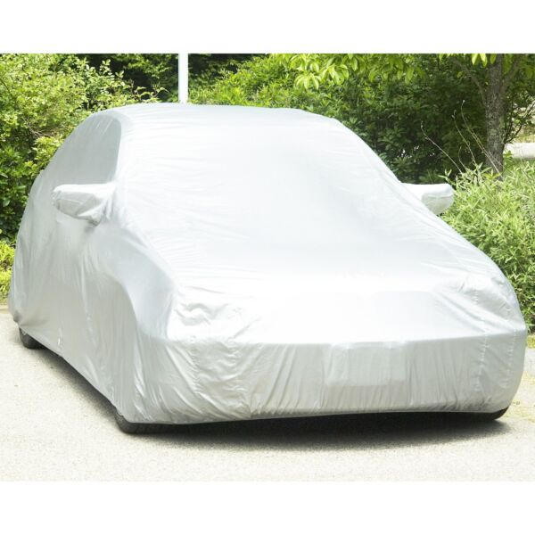 Universial Outdoor Full Car Cover Wind Dust Snow Resistant Waterproof XL-XXL US