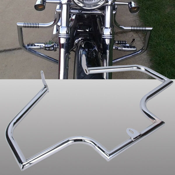 Motorcycle Crash Bars Highway Engine Guard Duty For Harley Softail Fat 2000-2017