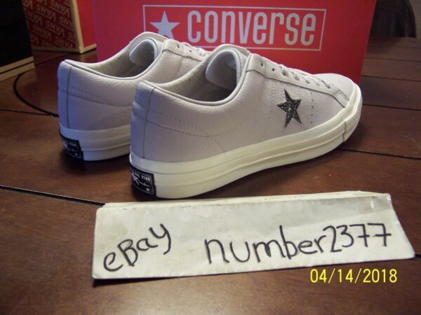 NEW Converse Taylor One Star Ox 70 Premium Leather Grey size 10 creator tyler
