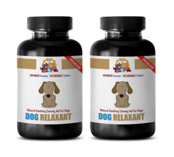 seperation anxiety dog DOG RELAXANT FOR ANXIETY 2B dog calming solution $37.99