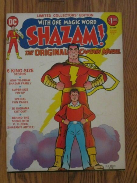 DC COMICS; LIMITED COLLECTORS EDITION #C 21 SHAZAM TREASURY EDITION