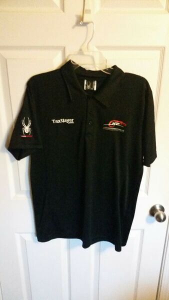 Dale Earnhardt JR Motorsports NASCAR Team issue pit crew shirt tax race used