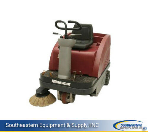 New Minuteman Kleen Sweep 40R Rider Sweeper base unit(no batteries and charger)