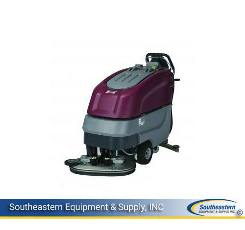 New Minuteman E26 Disc Brush Automatic Scrubber - Quick Pack - AGM Batteries