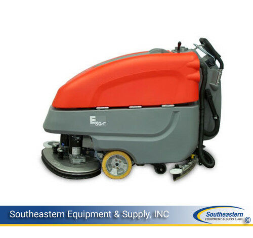 New Minuteman E3030 Disc Automatic Scrubber - Quick Pack - AGM Batteries