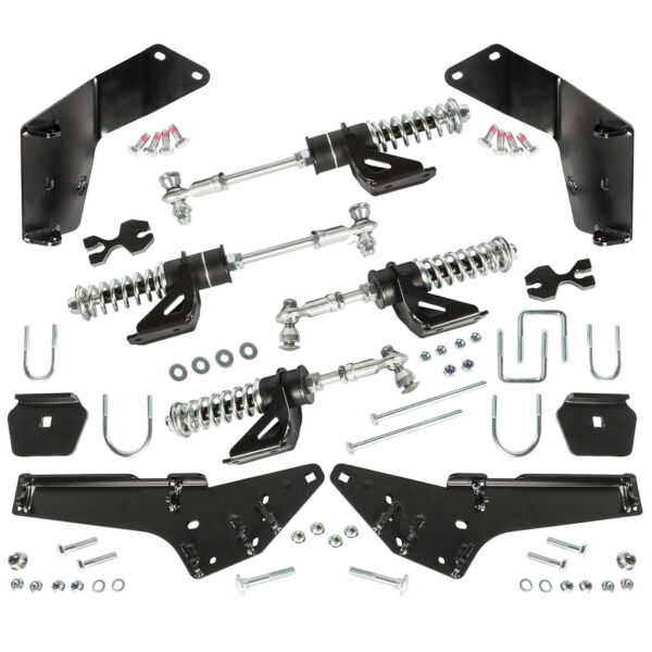 Kimpex Adaptor Kit For Commander WSS4 UTV Track Kit Honda Pioneer 1000 2016 2019