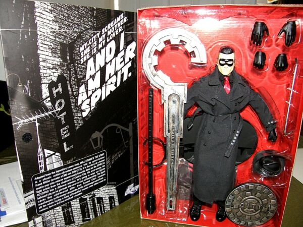 DC unlimited     The Spirit      1:6 scale deluxe collector  2008 action figure