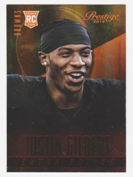 2014 Prestige Extra Points Red #223 Justin Gilbert RC (75% OFF Listed Price)!!