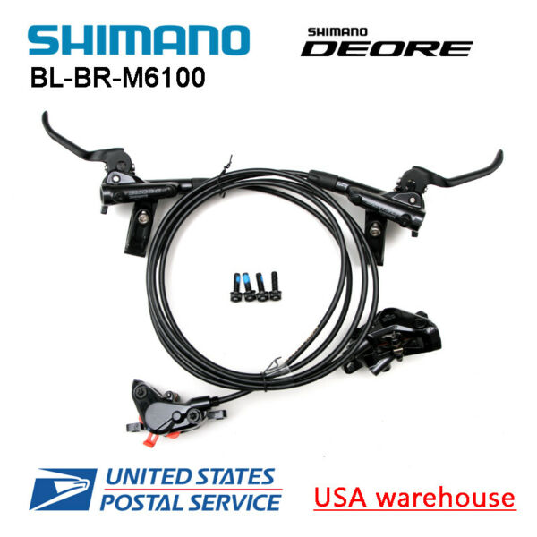 SHIMANO DEORE BR-BL-M6000 Bike MTB Hydraulic Disc Brake Set Front and Rear (OE)