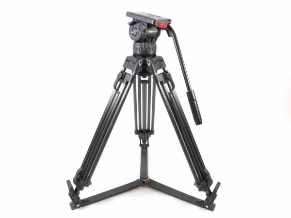 Sachtler DV12 SB Fluid Head Carbon Fiber Tripod Video 12SB DV 12 SB 100mm - DV12