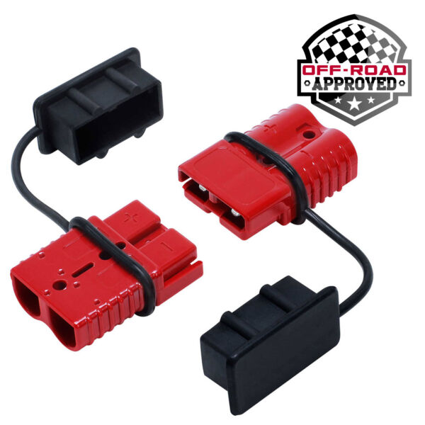 Battery Quick Connect Disconnect Electrical Plug Kit 2 4 Gauge Winch Trailer $16.99