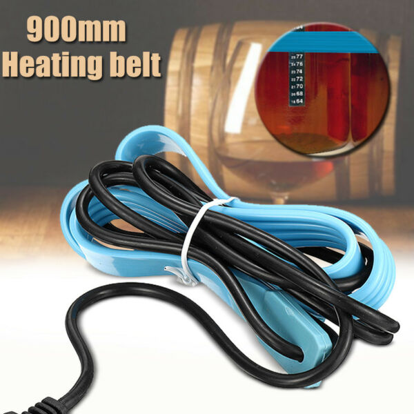 110V-230V Heating Belt Heat Brew Pad for Wine Beer Spirit Fermentation Pail Good