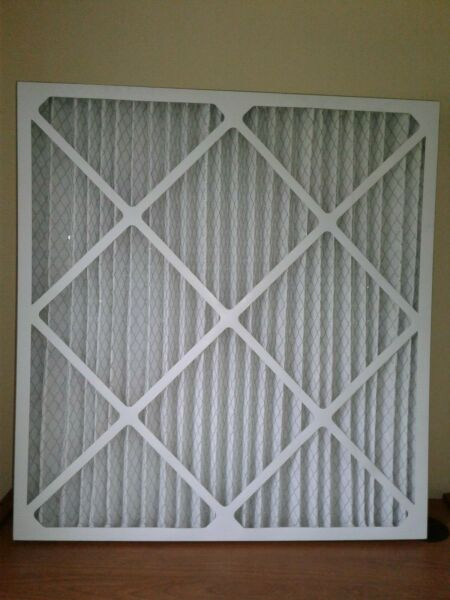 Lot of 2 AC Furnace Replacement Pleated Air Filters 28x30x2 MERV 8 $9.99