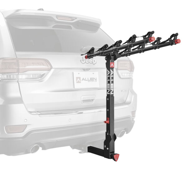Allen Sports 850QR Deluxe Locking Quick Release 5 Bike Carrier for 2quot; Hitch $279.99