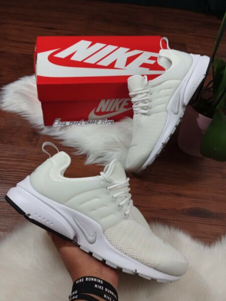 * 10 Wmns | 8.5 men's NIKE AIR PRESTO WHITE 878068 100 Casual Running Shoes