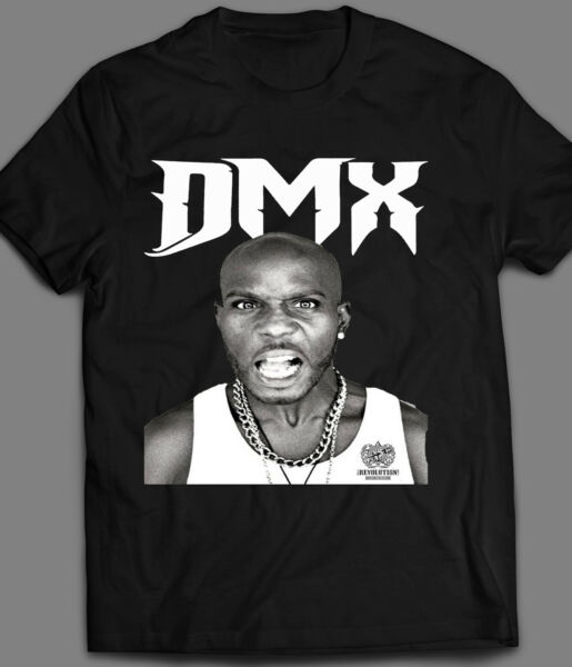 OLD SKOOL RAPPER DMX T SHIRT MANY OPTIONS COLORS OLD SKOOL**