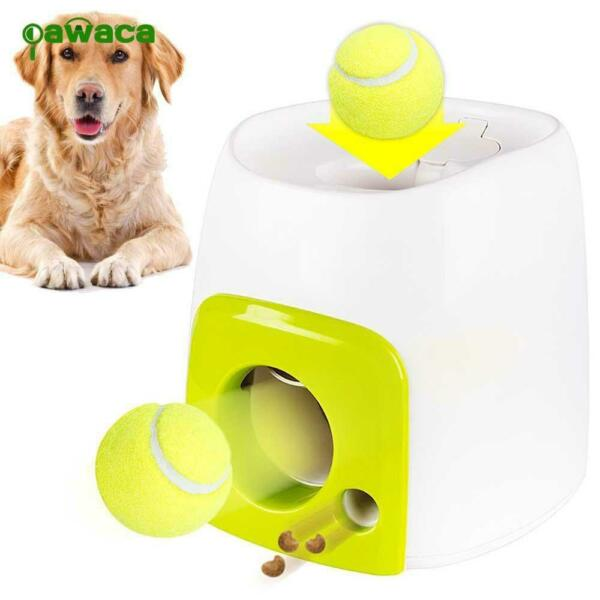 Pet Dog Automatic Interactive Ball Tennis Launcher