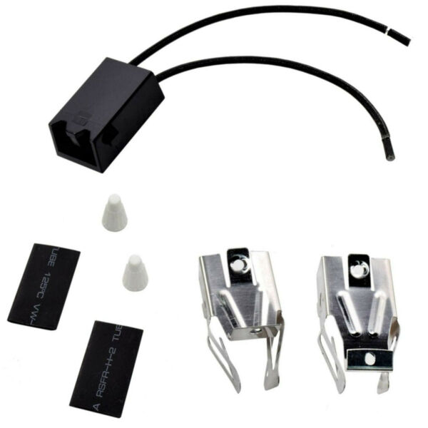 HQRP Range Top Burner Receptacle Kit for Whirlpool RC RCK RE Series Oven Stove