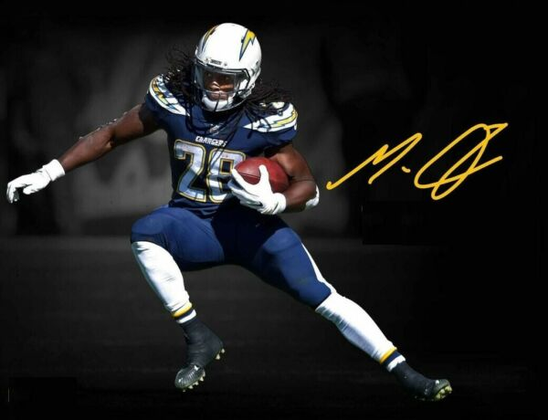 Melvin Gordon Autographed Signed 8x10 Photo ( Chargers ) REPRINT