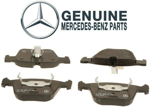 NEW Rear Disc Brake Pad Set with Shims Genuine For Mercedes C216 W164 W251 W221