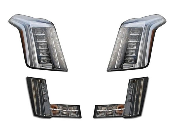 Left Right Genuine LED Headlights Fog Lamp Kit for Cadillac No Auto Braking GM