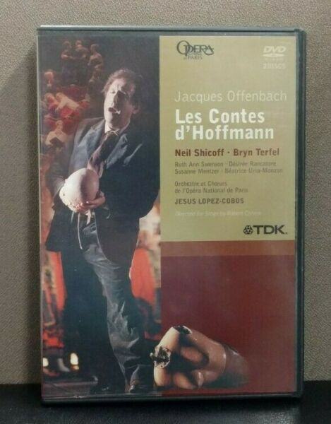 Offenbach: Les Contes D'Hoffman  (DVD)   All Region  English Subtitles  LIKE NEW