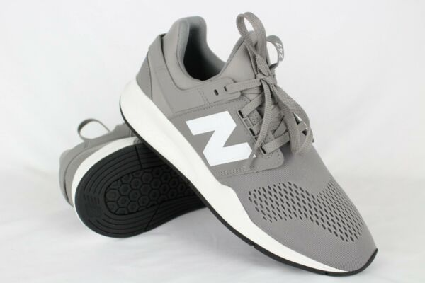 New Balance Men's 247 Sneakers Size 9, 9.5, or 12 Marblehead/White MS247EG