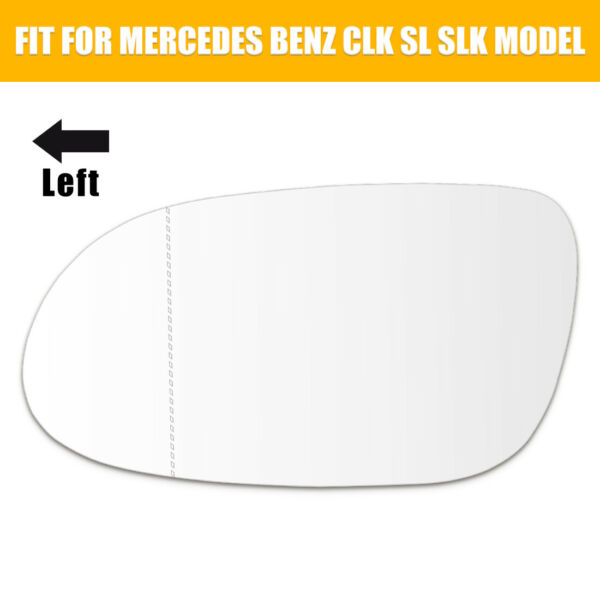 Driver Side Rearview Mirror Glass Adhesive for Mercedes Benz CLK SL SLK AMG