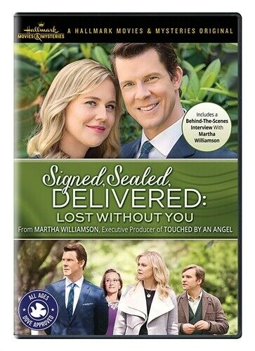 SIGNED SEALED DELIVERED LOST WITHOUT YOU New Sealed DVD Hallmark Channel