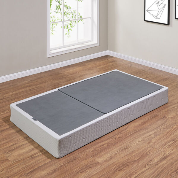 Mainstays 7.5 Half-Fold Metal Box Spring for Twin Full Queen King bed NEW