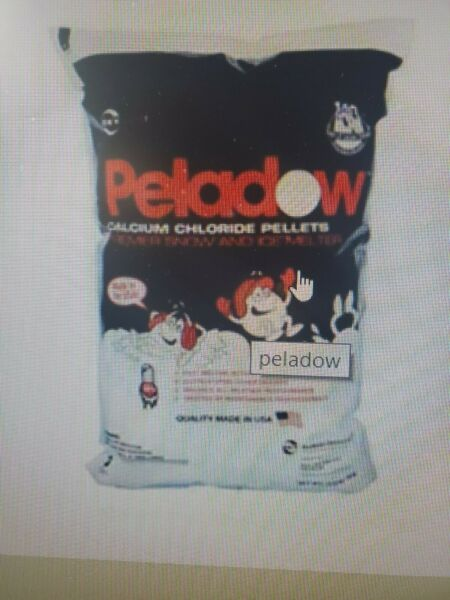 CALCIUM CHLORIDE ICE AND SNOW MELTER 50LB BAGS  TOP BRAND TIME RELEASED PELLETS