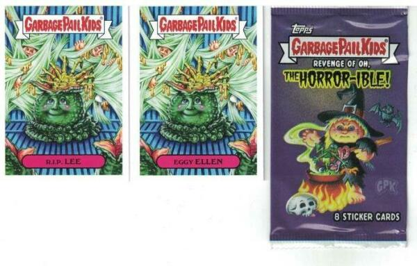 2019 GARBAGE PAIL KIDS REVENGE OF OH THE HORROR-IBLE FULL 200 CARD BASE SET GPK