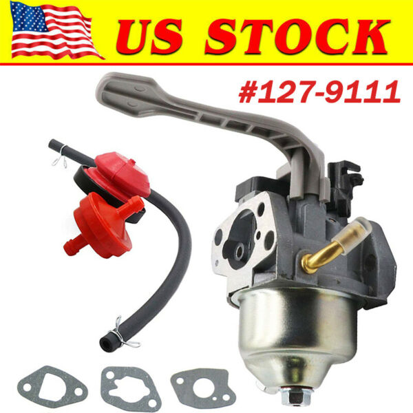 Carburetor & Gasket For Toro Snowmaster Power Max 726 724 Snow Blower 127-9111