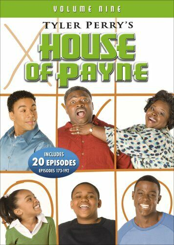 TYLER PERRY HOUSE OF PAYNE VOLUME 9 New Sealed 3 DVD Set