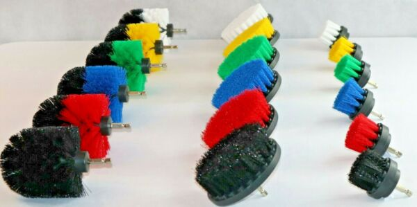 Drill Brush 3 Piece Set (Power Scrubber) Free Shipping from U.S. Based Seller