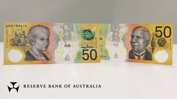 NEW Australian 50 Dollar Banknote Uncirculated Condition In Commemorative Folder