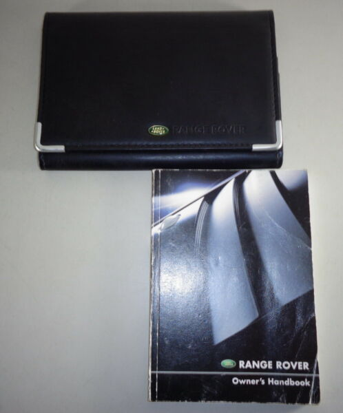 Document Kit + Manual Owner's Manual + Wallet Range Rover Stand 2002