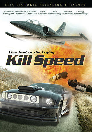 Kill Speed (DVD 2012) DISC ONLY