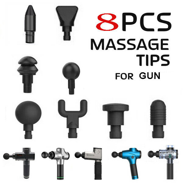 Massage Gun Heads Attachments For Electric Massagers Muscle Percussive 48 Set