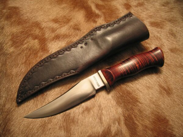 Jay Hendrickson Custom Knife - Moran Style English Bowie Near Mint Orig Sheath