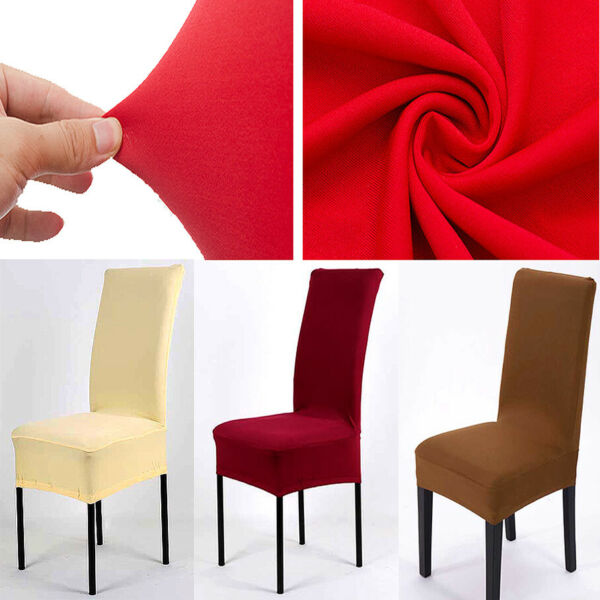 Stretch Spandex Chair Covers Slipcovers Dining Room Wedding Banquet Party Decor $28.74