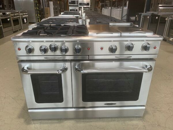 Capital MCOR484BGN Culinarian Series 48 Inch Gas Convection Freestanding Range