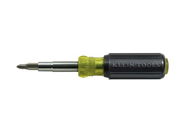 Klein Tools 32500 11-in-1 Screwdriver and Nut Driver Ship
