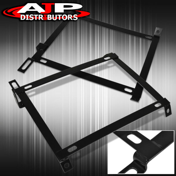 Driver amp; Passenger JDM Racing Seat Brackets For 1996 2000 Civic EK 2DR 3DR 4DR